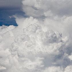 Magic Murals - Thunderstorm Cloud Develops Wallpaper Wall Mural - Self-Adhesive - Multiple Size - Thunderstorm Cloud Develops Wall Mural