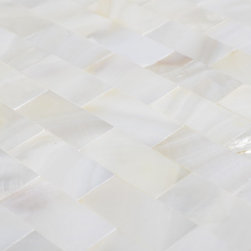 2013 New design Mother of pearl tiles for kitchen backsplash PEM0061 - Collection: Light Weight Mother of Pearl Tile