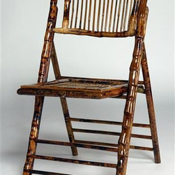 Bamboo Folding Chairs - Folding bamboo chairs are classic! I love their natural texture. At less than $75 each, these ones are very affordable.