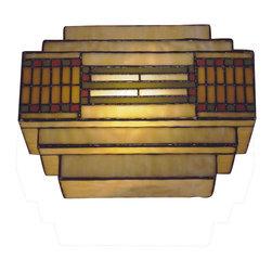 Dale Tiffany - Dale Tiffany Th100082 Cube Mission Wall Sconce - Wattage: 60W