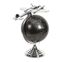IMAX CORPORATION - Hadwin Large Airplane Globe - Hadwin Large Airplane Globe. Find home furnishings, decor, and accessories from Posh Urban Furnishings. Beautiful, stylish furniture and decor that will brighten your home instantly. Shop modern, traditional, vintage, and world designs.