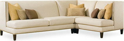 contemporary sectional sofas by Lee Industries
