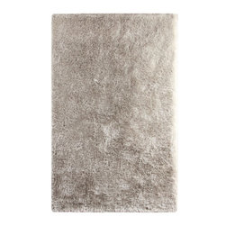 Dynamic Rugs - Shag Paradise 10'x14' Rectangle Ivory Area Rug - The Paradise area rug Collection offers an affordable assortment of Shag stylings. Paradise features a blend of natural Silver color. Hand Tufted of 100% Polyester the Paradise Collection is an intriguing compliment to any decor.