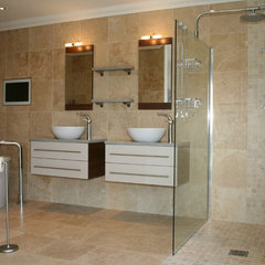 modern bathroom tile by Tiles Travertine Ltd