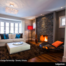 Contemporary Living Room by ErthCOVERINGS