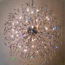 Modern Global Crystal Stair Chandelier - http://www.phxlightingshop.com/index.php?main_page=advanced_search_result&search_in_description=1&keyword=9276