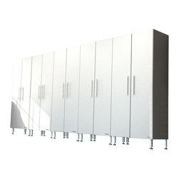 "Ulti_MATE - Ulti-MATE Garage PRO Model GA-065KPC - · 5-36"" wide tall cabinets (GA-06PC)"