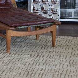 Modern Rug Collection Miami - Exciting Textures/ Innovative Fibers/ Contemporary Nepalese Collection/ Hand Crafted from Silk, Wool, Hemp, Linen and other Organic Bio-degradable Fibers.