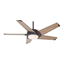 "Casablanca - LED Casablanca 59092 Stealth Industrial Rust Energy Star 54"" Ceiling Fan - Features Energy Star Rated + LED Light"