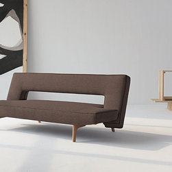 Puzzle Wood Sofa Bed by Innovation - Features: