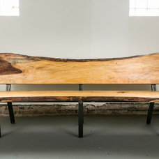 Contemporary Indoor Benches by Buchs Urban Rebuilds
