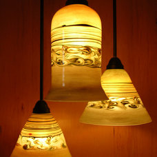 Eclectic Pendant Lighting by Mirador Glass