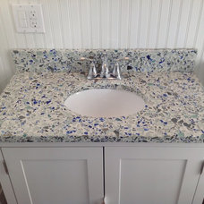 Eclectic Bathroom Vanities And Sink Consoles by Art of Tile and Stone