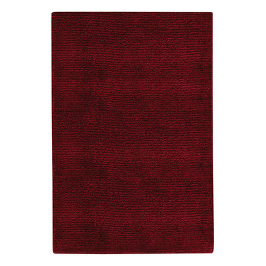 Stoneridge rug in Dark Red - One of the most successful rug collections Capel has ever offered, this 100% New Zealand wool line works in any room of the home no matter what.  The wide range of richly dyed, classic and fashion colors make this self tone (single color) chenille-like ribbed construction totally practical and a snap to decorate with.