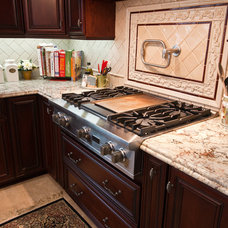 Eclectic Cooktops by Kitchens Etc. of Ventura County