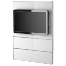 FRAMSTÅ TV panel - white/glass - IKEA