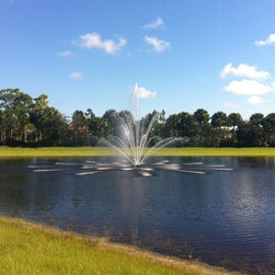Lake Fountains - 5 hp Three tier Lake /Pond Fountain
