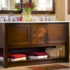 contemporary bathroom vanities and sink consoles Mendham Bathroom Vanities