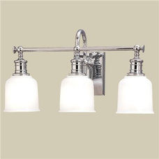 Well Appointed Bath Light - 3 Lt. (4 finishes!) - Shades of Light