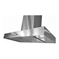 "XtremeAir - Pro-X Series PX04-W36-B 36"" Chimney Style Wall Mount Ducted Range Hood With 900 - XtremeAir39s Wall Mount Range Hood will give your kitchen a sweet upgrade This range hood features a 900 CFM centrifugal blower square corner T shape seamless body and Motor container oil cup Additionally it features a 4 Speed heat touch sensitive el..."