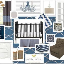 Interior Design Online/ E-design - The cutest little nursery design for your little one!