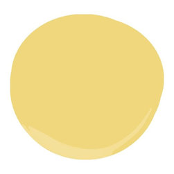 Sunny Side Up Paint - This sunny yellow paint would make a playroom feel warm, happy and inviting. Even better, it's nontoxic, odorless and scrubbable (which means it will stand up to peanut butter, crayons or whatever else your kids would wipe all over it).