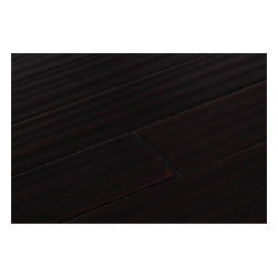 Yanchi - Yanchi Bamboo - Barn Plank Strand Woven Collection - [20.7 sq ft/box] - Distressed Sterling Dark - Known for its high quality and color consistency from board to board, Yanchi Distressed Strand Woven Barn Plank is an A grade bamboo flooring that is ideal for both commercial and residential settings. Given its wider planks and lightly handscraped bamboo features, the strand woven barn plank provides a rustic appearance that looks exceptional in any interior.     This line of Barn Plank bamboo flooring is known for its durability. With a Janka rating of 2820, it is one of the hardest, strongest bamboo flooring available.     At BuildDirect, we mill our own bamboo under a 24-point inspection process that is created to meet even the most demanding standards. Due to Yanchi's superior lamination process and confidence in its lasting and durable bamboo flooring structure ,Yanchi even offers its customers a lifetime structural and 25 year finish warranty.