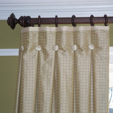 Traditional Curtains by Trish Albano Interiors