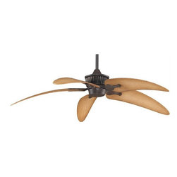 Fanimation - Fanimation Louvre DC Motor Traditional Ceiling Fan X-SR5523DAM - Height : 15.16""