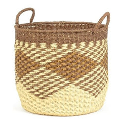 Go Home Ltd - Go Home Ltd Cheyenne Decorative Basket X-65071 - Pack of 2.