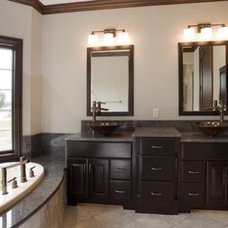Contemporary Vanity Tops And Side Splashes by The Granite Shop