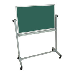 Luxor - Luxor Reversible Whiteboard - MB3624 - Luxor MB whiteboard series are made from magnetic reversible whiteboards. White paint finish on main frame