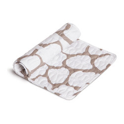 Oilo - Extra Changing Pad Topper, Cobblestone - When it comes to maintaining a clean diaper changing station, don't let your hip-wrangling bambino catch you off guard. Stay stocked and stylish with extra changing pad toppers from Oilo. Thanks to a soft quilted sateen fabric and an innovative quick release system for washing and exchanging, Oilo pad toppers are as convenient as they are comfortable. Toppers ship pad-ready with two Velcro strips.