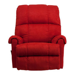 Flash Furniture - Flash Furniture Recliners Microfiber Recliners X-GG-612-0078-MW - This is a great little Rocker Recliner, period. It has been built to just the right dimensions for the average sized person, but it gives all the comfort you would expect from an over-stuffed recliner. The Microfiber cover is very lush, comfortable, and easy to clean. It is simply an outstanding value. [WM-8700-216-GG]