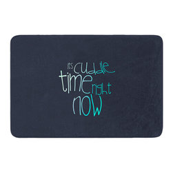 """KESS InHouse - Monika Strigel """"Cuddle Time Mint"""" Memory Foam Bath Mat (17"""" x 24"""") - These super absorbent bath mats will add comfort and style to your bathroom. These memory foam mats will feel like you are in a spa every time you step out of the shower. Available in two sizes, 17"""" x 24"""" and 24"""" x 36"""", with a .5"""" thickness and non skid backing, these will fit every style of bathroom. Add comfort like never before in front of your vanity, sink, bathtub, shower or even laundry room. Machine wash cold, gentle cycle, tumble dry low or lay flat to dry. Printed on single side."""