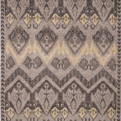 """Safavieh - Safavieh Kenya KNY656A 2'3"""" x 8' Gold, Beige Rug - Inspired by afghan throws crocheted by hand in Kenya of indigenous un-dyed wool, Safavieh's Kenya rug collection is textural and beautifully detailed. Hand-tufted in India of pure, naturally colored wool, they add a well-traveled look to any room."""
