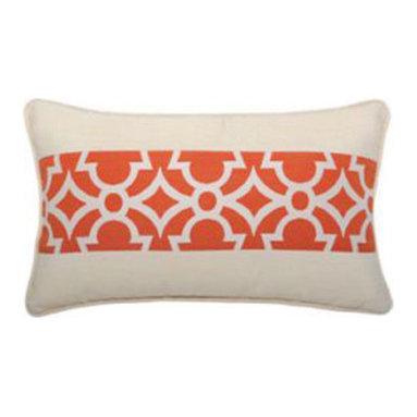 """New Elaine Smith Pillows - St. Bart's Gate Tomato - 12"""" x 20"""" Elaine Smith Pillows"""