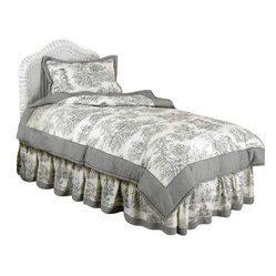 Black Toile Bedding Set Twin by Sweet Jojo Designs