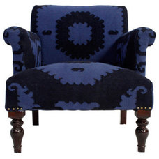 Fab.com | Chairs Draped In Eclectic Textiles