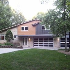Garage door addition and changing to grays