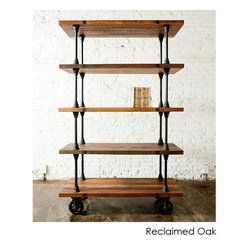 V21 Shelving Unit, Reclaimed Wood
