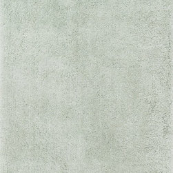 """Loloi - Loloi Cozy Shag CZ-01 (Mist) 3'6"""" x 5'6"""" Rug - The contemporary Cozy Shag Collection is made in China of thin and thick polyester yarns in ivory, sand, taupe, prune and oasis green"""