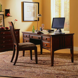Hooker Furniture - Hooker Furniture Writing Desk 436-10-158 - Includes Hooker Furniture 434-10 Writing Desk 436-10-158 only.