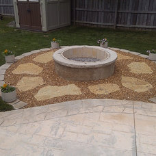 Contemporary Patio by Foundation Builders LLC