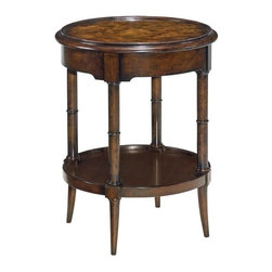 EuroLux Home - New Woodbridge Regency Drinks Table Round - Product Details