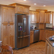 Contemporary Kitchen Cabinets by Schmidt Carpentry