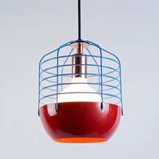 Eclectic Pendant Lighting by The Future Perfect