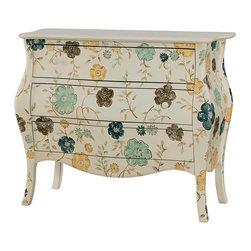 Hammary - Hammary Hidden Treasures 3-Drawer Cabinet - Three drawer cabinet belongs to Hidden Treasures collection by Hammary