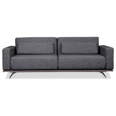 Modern Sofas Copperfield Grey-Black Sleeper Sofa