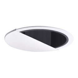 "Nora Lighting - Nora NTA-8/2PL 6"" White Wall Wash Eyelid with Specular Cone Reflector, Nta-88/2p - 6"" White Wall Wash Eyelid with Specular Cone Reflector"